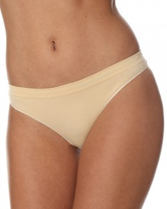 Stringi damskie Brubeck Comfort Cotton TH00182 beżowe